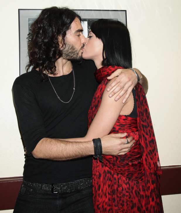 Katy Perry, Russell Brand, at the aftershow party after his one man show at the Royal Albert Hall