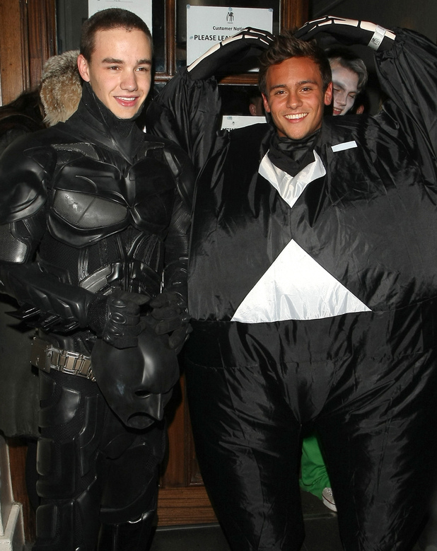 Liam Payne and Tom Daley