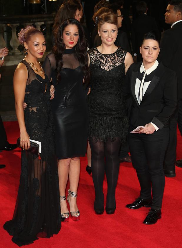 Jade Ellis, Tulisa, Ella Henderson and Lucy Spraggan