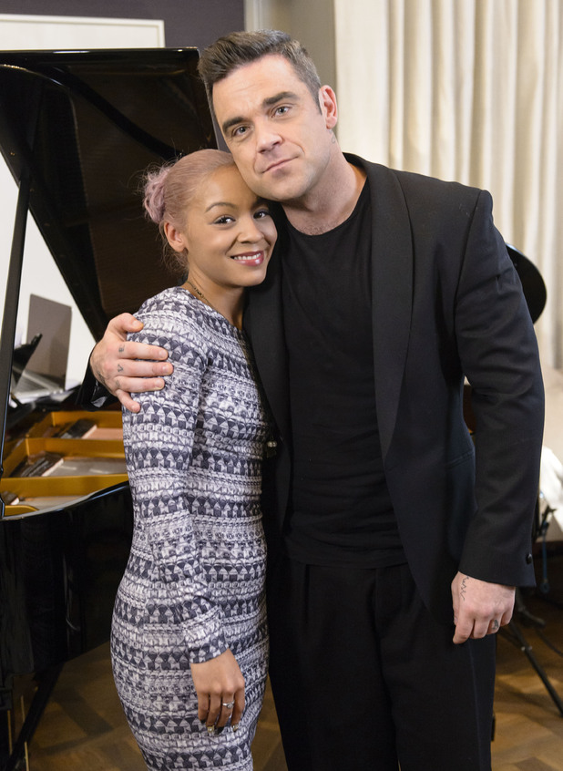 Robbie Williams, Jade Ellis, X Factor