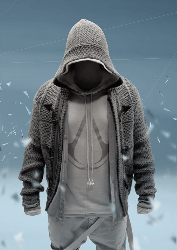 Apparel from the Assassin's Creed Collection