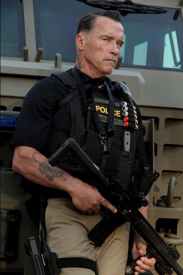 Arnold Schwarzenegger in 'Sabotage'