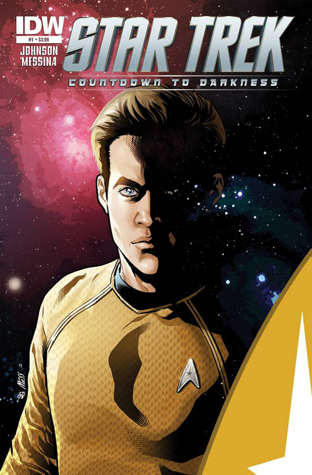 'Star Trek: Countdown To Darkness' comic artwork