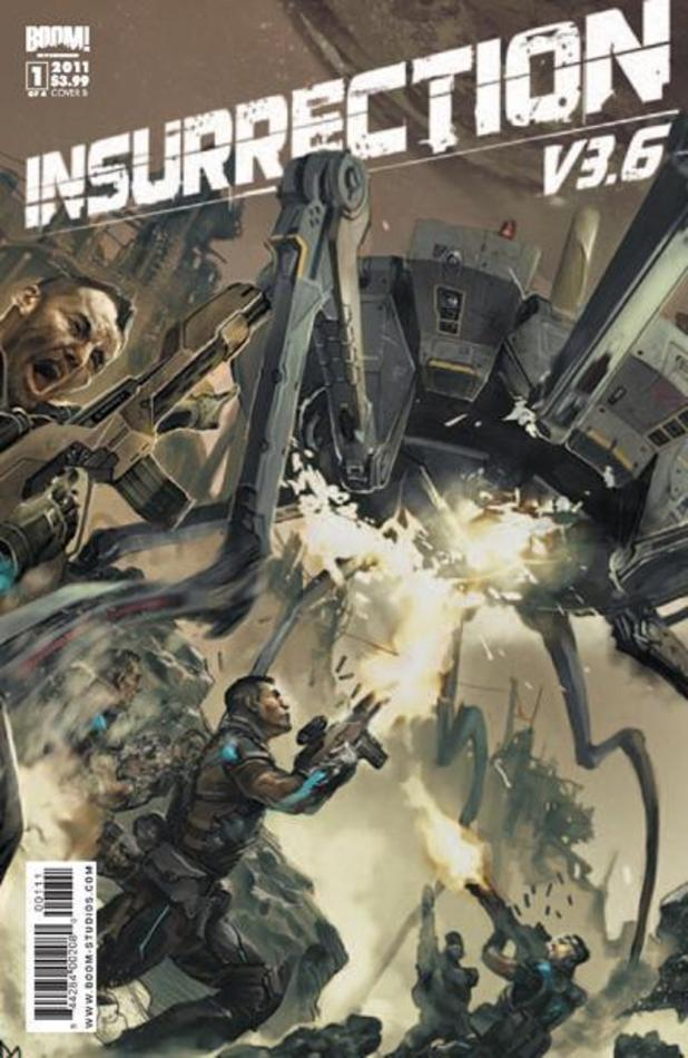'Insurrection' comic book cover
