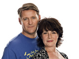 Chris Walker and Jan Pearson as Rob and Karen Hollins in Doctors