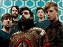 Foals's third album is narrowly beaten by the musical adaptation's soundtrack.