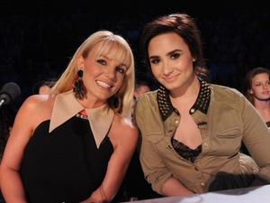 Britney Spears, Demi Lovato X Factor USA