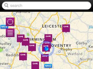 'GAME Mobile App' screenshot