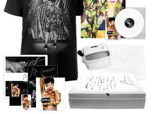 Rihanna 'Diamonds Executive Platinum Box' set.