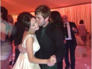 James Buckley and Clair Meek get married