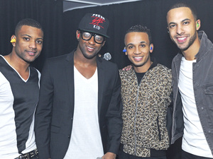 Boyband JLS  performs at G-A-Y club in London