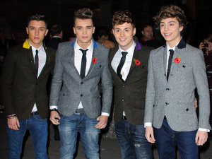 Cosmopolitan Ultimate Women of the Year Awards 2012: Union J