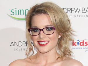 Helen Flanagan Specsavers Spectacle Wearer of the Year 2012 held at Battersea Power Station - Arrivals London, England