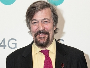 Stephen Fry attended a star studded event at Battersea Power Station last night to mark the launch of EE
