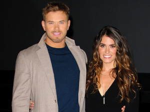 Kellan Lutz (Emmett Cullen) and Nikki Reed (Rosalie Hale) The Twilight Saga: Breaking Dawn Part 2 Q&A at the Vue,Leicster Square. London, England