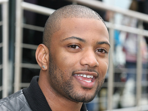 Jonathan 'JB' Gill of JLS at the Silverstone Circuit prior to the start of the 2012 British Grand Prix Northamptonshire, England - 08.07.12 ***Not Available for Publication in Germany. Available for Publication in the Rest of the World*** Mandatory Credit: ATP/WENN.com