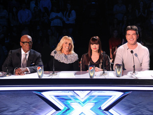 'The X Factor' USA judges LA Reid, Britney Spears, Demi Lovato and Simon Cowell