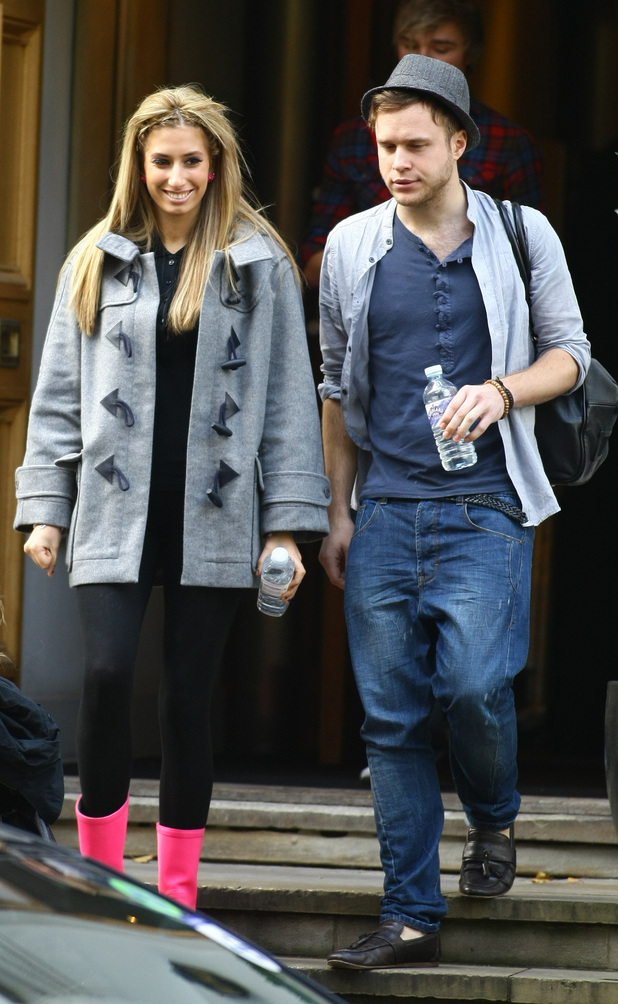 Stacey Solomon and Olly Murs