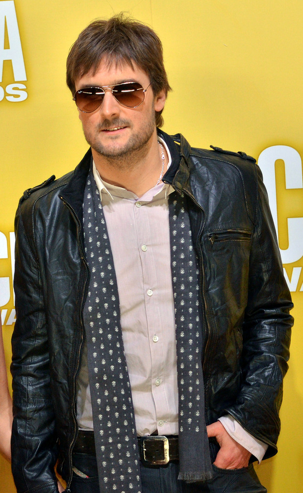 Eric Church at the CMA Awards 2012