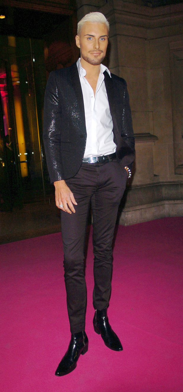 Rylan Clark 'Stonewall Awards'  held at the Victoria & Albert museum