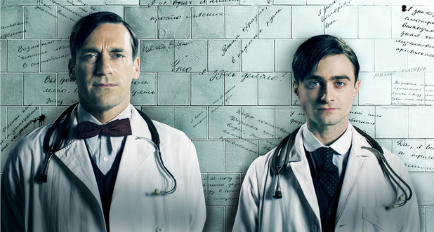 First images released from Jon Hamm and Daniel Radcliffe series A Young Doctor's Notebook