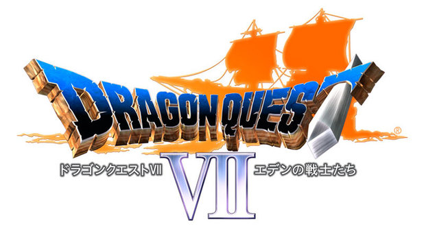 'Dragon Quest VII' logo