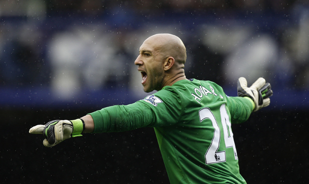 Everton and United States goalkeeper Tim Howard
