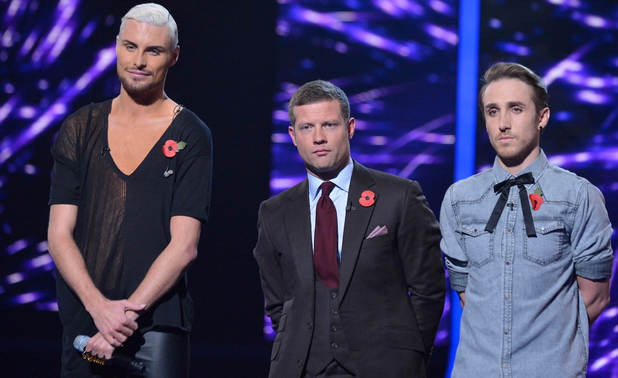 The X Factor Results Show: Rylan and Kye
