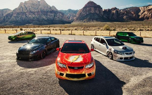 'Justice League'-inspired cars unveiled by Kia Motors