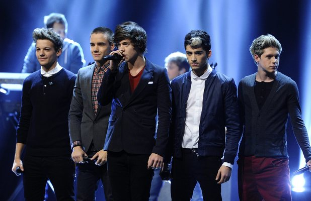 One Direction perform on Sweden's The X Factor