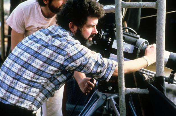 George Lucas steps behind the camera