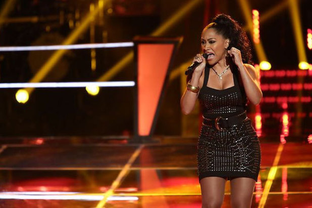 The Voice S03E17: Knockouts Part 2: Laura Vivas