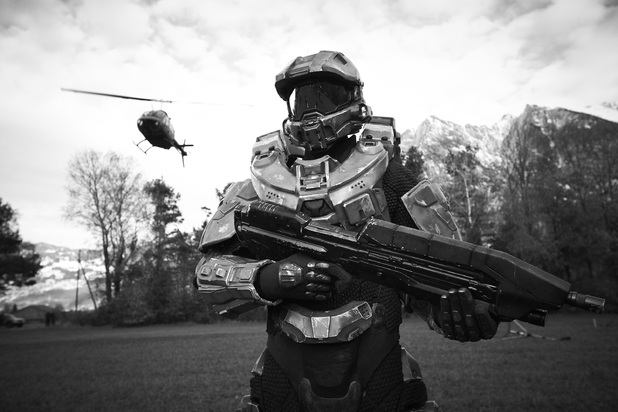Master Chief stands guard