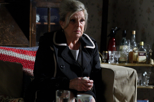 Cora struggles to deal with the pain and guilt she has about her long lost daughter.