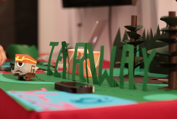 Game City 7 Festival: Upcoming paper craft adventure 'Tearaway' comes to life at the festival.