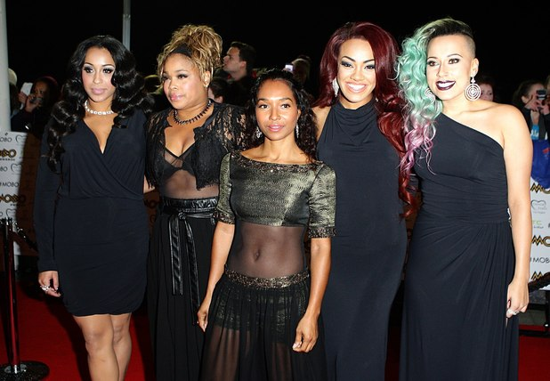 The MOBO Awards 2012: Stooshe and members of TLC
