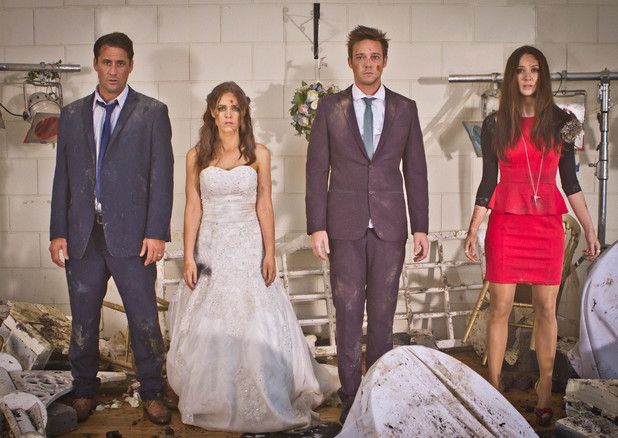Wedding promo picture - crash week.