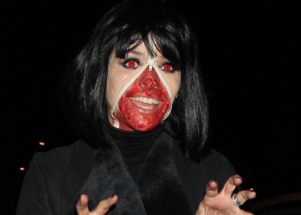 Holly Willoughby, Jonathan Ross's Halloween party, London