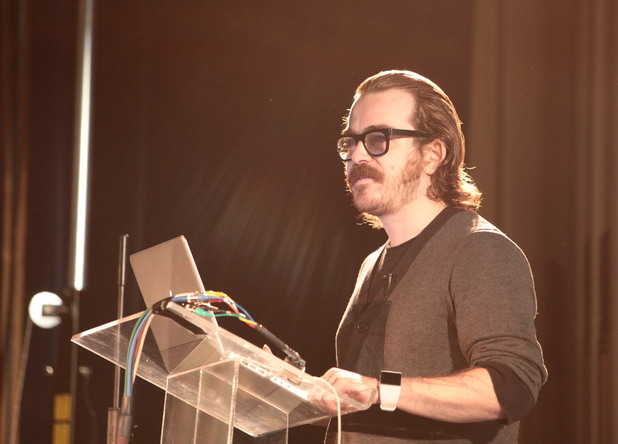 Game City 7 Festival: 'Fez' developer Phil Fish gives a talk at GameCity 7.