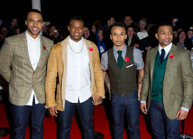The MOBO Awards 2012: JLS