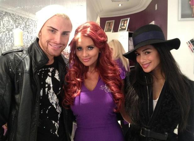 Rylan Clark, Amy Childs, Nicole Scherzinger 31.10.12