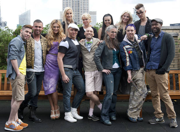 The cast of Project Runway All Stars season 2 await for their first challenge.