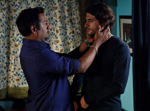 Masood learns that Amira is leaving with Yasmin.
