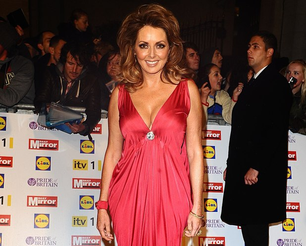 Carol Vorderman, 2012 Pride of Britain awards at Grosvenor House