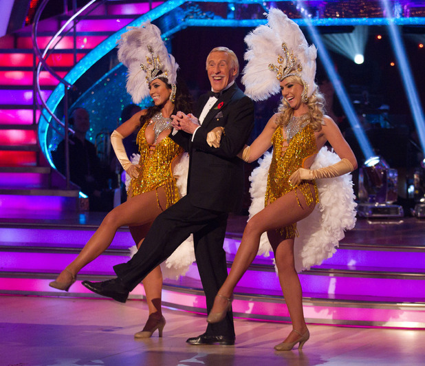 Strictly Come Dancing Week 5: Bruce and the showgirls.