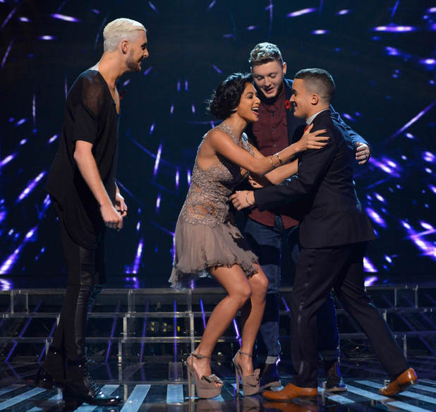 Rylan, Nicole, James and Jahmene.