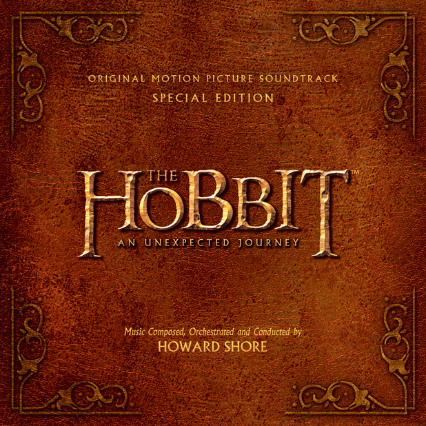 Artwork for the soundtrack of 'The Hobbit'