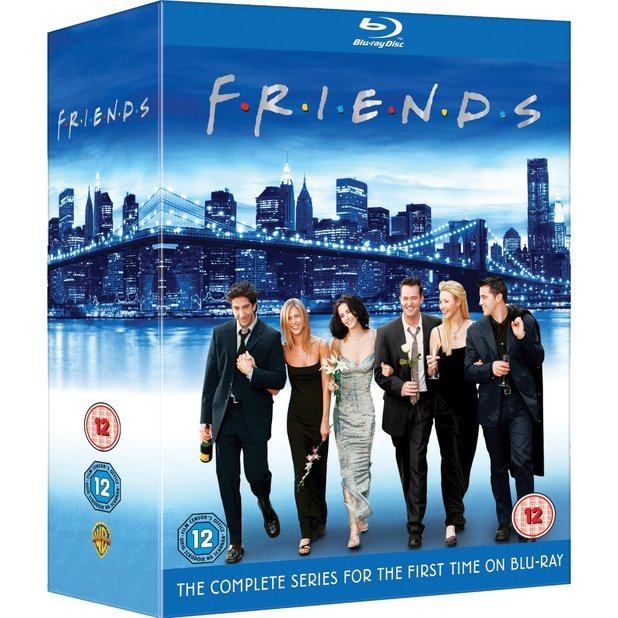 Friends S1-10 Blu-Ray set