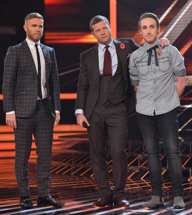 Gary Barlow, Demot O'Leary and Kye Sones