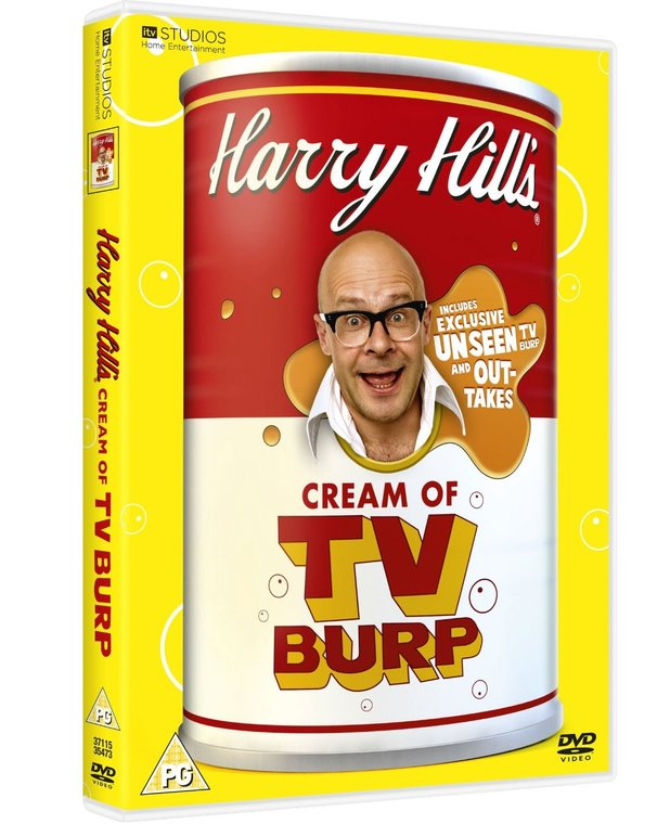 Harry Hill Cream of TV Burp DVD
